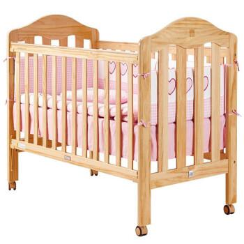 好孩子(Goodbaby)多功能环保实木婴儿床 MC805-H 原木色