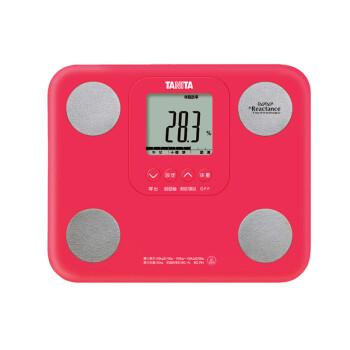 百利达(TANITA)BC-751 家用人体秤脂肪测量仪电子称健康秤脂肪称体重计 红色