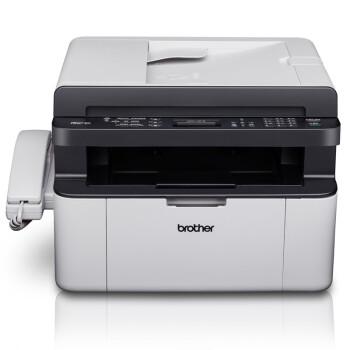 兄弟(brother)MFC-1819 黑白激光一体机(打印 复印 扫描 传真 电话手柄)