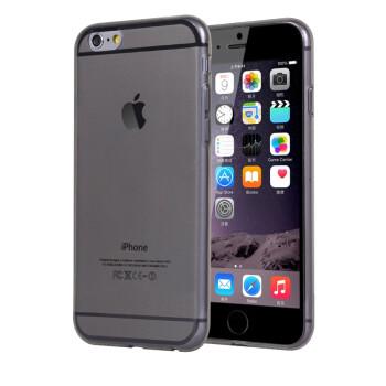 魅士 手机壳/手机套/保护套/硅胶软壳 适用于苹果iPhone6 Plus 5.5英寸 透灰 5.5英寸