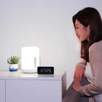 小米 米家床头灯2卧室智能台灯炫彩柔光小夜灯节日创意礼品礼物通体发光多种语音控制