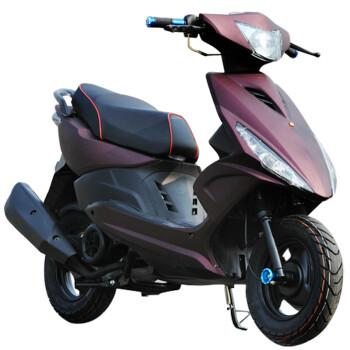 民宇 鬼火摩托车踏板车125cc鬼火街车踏板车 鬼火RSZ新一代燃油踏板车街车助力车摩托车 蓝分白 标准款