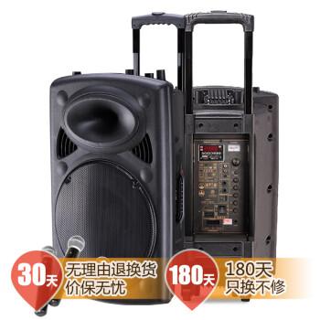 新科(Shinco)T515 15寸户外便携移动音响 大功率广场舞拉杆音箱