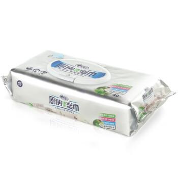 心相印湿巾 厨房专用系列40片装 XJB040