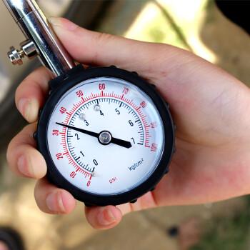 巨木 胎压计气压表 汽车轮胎测胎压高精度车用胎压表可放气精准检测胎压 指针款胎压计