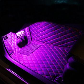 汽车内饰氛围灯节奏脚灯 声控音响dj感应灯气氛爆闪跳舞灯7彩爆闪汽车