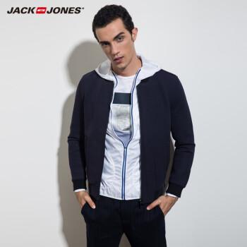 杰克琼斯jackjones针织衫含羊毛男士修身针织衫s|215425006 045黑绿