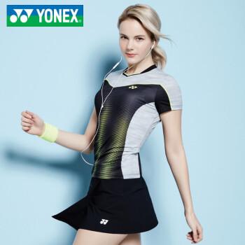 Quần áo cầu lông nữ yonex71TS042FBK71PS001FBK 85S85S 71TS042FBK+71PS001FBK