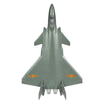 彩珀飞机合金模型儿童玩具金属战斗机客机歼20
