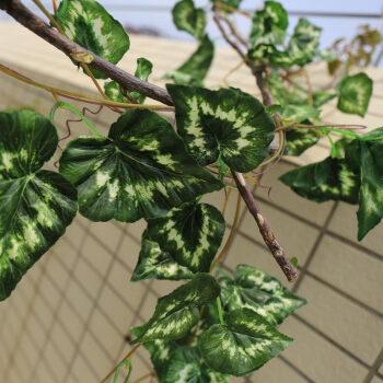 假树叶假藤条树叶装饰塑料树叶仿真藤蔓植物 仿真绿叶装饰假树藤 吊顶