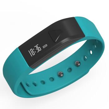 埃微(iwown)I5系列智能手环 蓝牙4.0 智能计步 健康管理 来电显示 湖光蓝