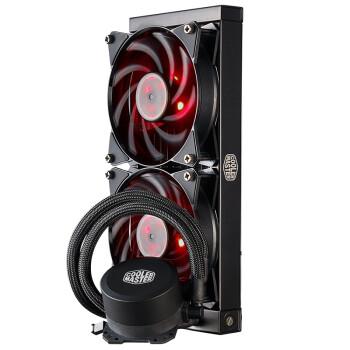 酷冷至尊(Cooler Master)冰神B240 CPU水冷散热器(支持I9 2066、AM4/双腔水泵/微流道设计/