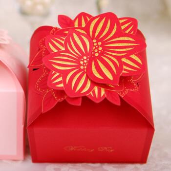 俏夫人 喜糖盒 结婚喜糖盒 喜糖盒子 婚礼糖果盒 婚庆