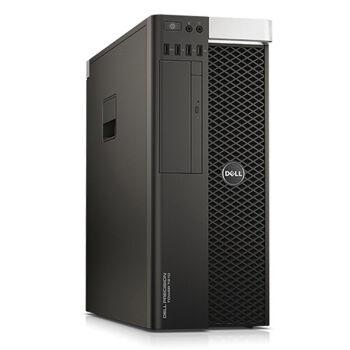 戴尔(dell) t7810 塔式专业图形工作站 至强e5台式机电脑主机 1颗10核图片