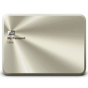 西部数据(WD)My Passport Ultra周年纪念版USB3.0 1TB 超便携移动硬盘 WDBTYH0010BCG