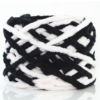 围巾线 冰条线编织围巾线 钩拖鞋坐垫牛奶棉冰条粗毛线 bt-12