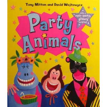 party animals动物聚会原版进口外文儿童绘本