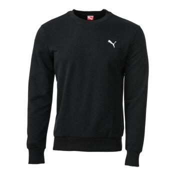 彪马/PUMA Fundamentals男士针织卫衣825625 黑色-白色 XXL