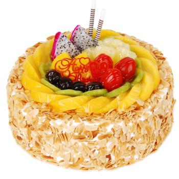 生日蛋糕配送 鲜花蛋糕速递预定 北京上海深圳广州成都重庆天津全国同城配送 甜蜜一夏8寸(2-4人食用)