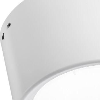 雷士(NVC) 雷士照明 led筒灯 明装筒灯免开孔吸顶灯 9W暖黄光3000K 白色