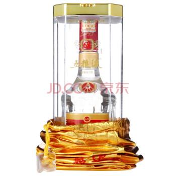 五粮液68度500ml 浓香型高度白酒礼盒装 水晶瓶五粮液