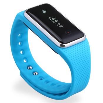 玩咖(wan-ka)7062 智能运动手环 智能记步健康管理 触摸屏 蓝色