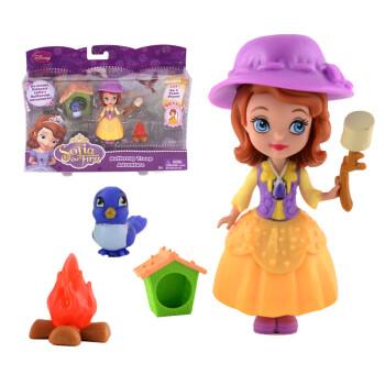 美泰 迪士尼小公主苏菲亚公主娃娃套装玩具公主娃娃bd