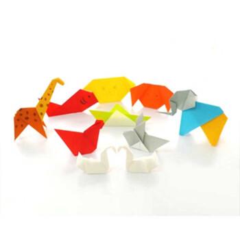 童洋kidstoyo儿童折纸动物飞机蛋糕花千羽鹤星星恐龙游戏熊猫教育折纸