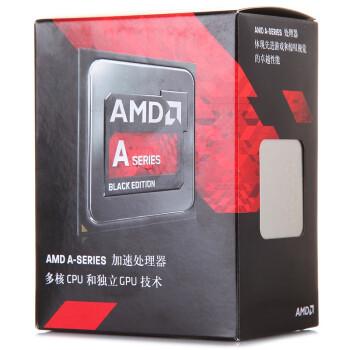 AMD APU系列 A8-7650K 四核 R7核显 FM2+接口 盒装CPU处理器