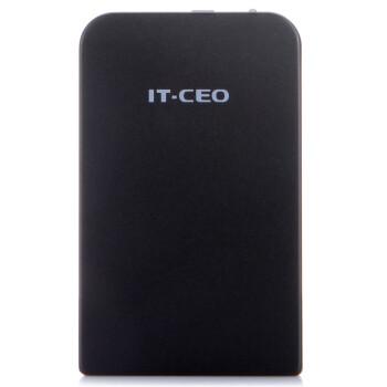IT-CEO L-600 USB3.0移动硬盘盒/存储盒 支持2.5英寸SATA串口SSD固态/笔记本电脑硬盘 全铝合金外壳 黑色