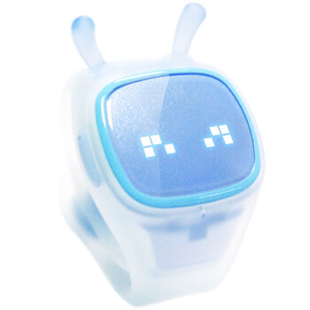 糖猫(Teemo)---搜狗儿童对讲定位手表(语音对讲,位置定位,体感游戏) 一年合约版 天空蓝 TM-P1