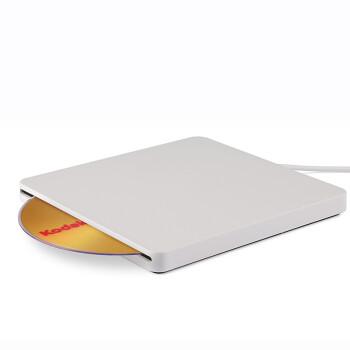 BSN 吸入式苹果USB外置DVD刻录机 apple外接移动光驱 MAC通用型 白色DVD刻录机