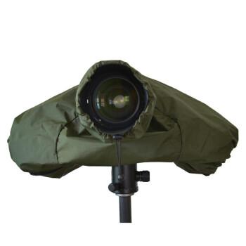 yeud 单反相机防雨罩 防沙保护套 尼康佳能索尼相机 防水保护套 军色