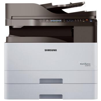 三星(SAMSUNG)激光打印复印扫描一体机K2200 ND双面网络+输稿器+第二纸盒 主机+机柜