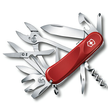 维氏VICTORINOX德莱蒙系列 瑞士军刀 新生代2.5223.SE红色 主刀可固定