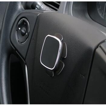 皓驹 车载手机支架磁性 方向盘吸盘汽车用磁吸手机支架磁铁强磁力导航