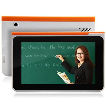紫光Q5 学习机 学生平板电脑 点读机 视频 词典正品九门功课小学 初中 高中同步 标配