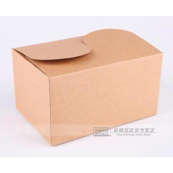长方形牛皮纸点心包装盒长条形西点盒离谱饼干包装盒