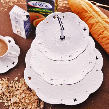 一次性纸盘子 蛋糕盘 水果盘手工绘画