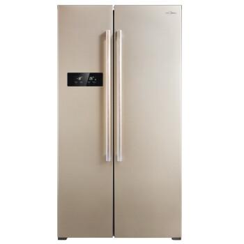 Midea 美的 BCD-610WKM(E)610升 对开门冰箱(风冷无霜/电脑控温)3699元(券后3499元)