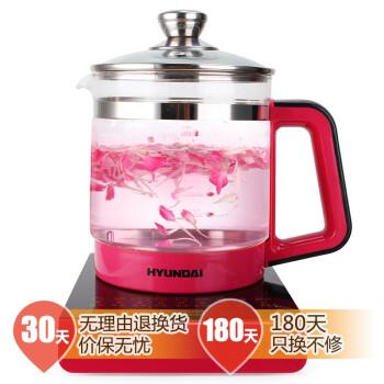 韩国现代 (HYUNDAI) BD-YS1802 养生壶1.8L玫瑰黑