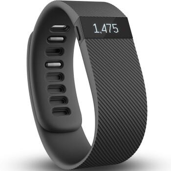 Fitbit Charge 智能手环  自动睡眠记录 来电显示 运动蓝牙手表计步器 典雅黑 S