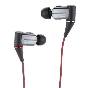 索尼(SONY)XBA-A2 圈铁结合耳机 黑色