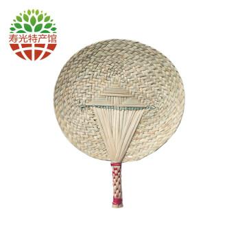 【寿光馆】草碾子蒲草芭蕉扇蒲扇手工编织扇子寿光特产 迷你版,直径