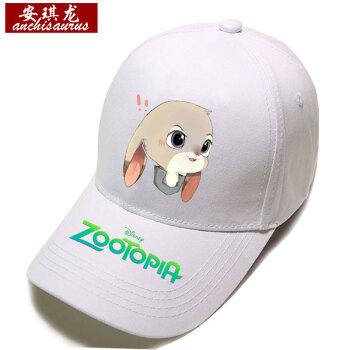 安琪龙 2017新款帽子疯狂动物城棒球帽小兔子尼克嘻哈