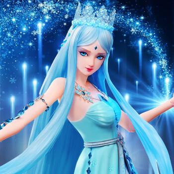 叶罗丽 芭比娃娃叶萝莉蓝冰公主仙子精灵梦夜萝莉正品孔雀全套50cm图片