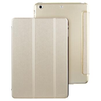 亿色(ESR)悦色系列 iPad mini/mini2/mini3保护套 三折皮套 iPad mini Retina保护套 (香槟金)