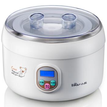 小熊(Bear)SNJ-5361 微电脑米酒酸奶机 1000ML(白色)