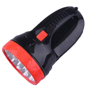 强光手电筒充电式led大容量探照灯蓄电池打猎露营照明图片
