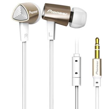 先锋(Pioneer) SE-CL31-N 立体声入耳式耳机 金色